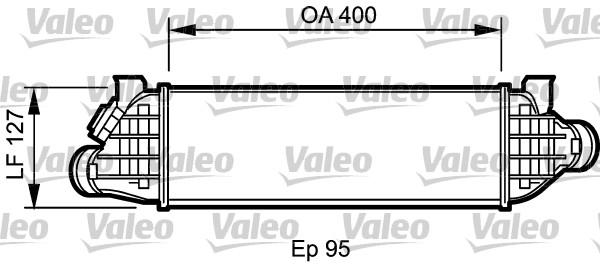 Intercooler, échangeur - VALEO - 818802