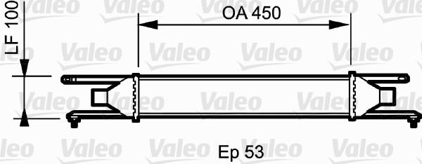 Intercooler, échangeur - VALEO - 818823