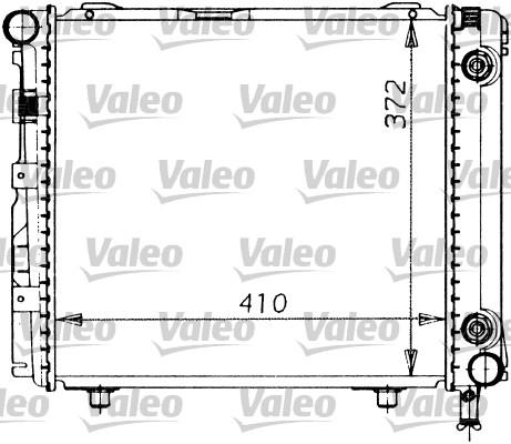 Radiateur, refroidissement du moteur - VALEO - 819201