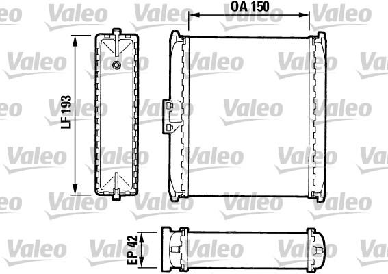 Système de chauffage - VALEO - 883737