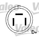 Alternateur - VALEO - 437638