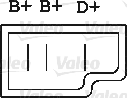 Alternateur - VALEO - 436150