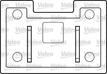 Lève-vitre - VALEO - 850033