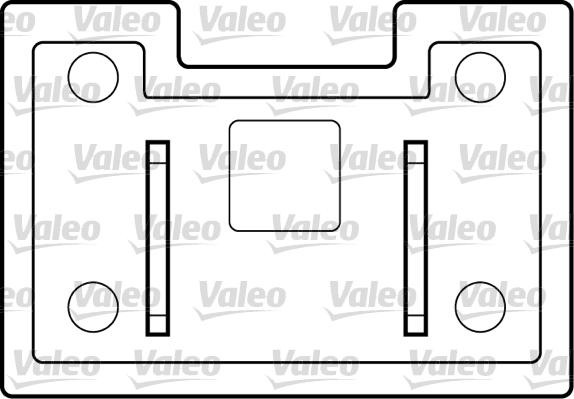 Lève-vitre - VALEO - 850036