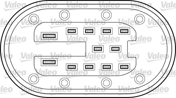 Lève-vitre - VALEO - 850400