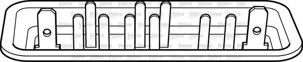 Lève-vitre - VALEO - 850452
