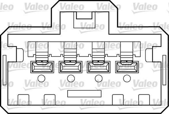 Lève-vitre - VALEO - 850518