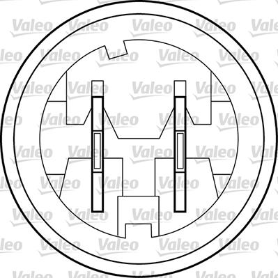 Lève-vitre - VALEO - 850656