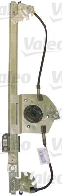 Mâchoire coulissante, lève-vitre - VALEO - 850721