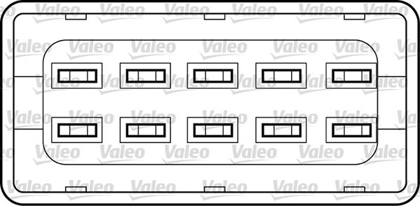 Lève-vitre - VALEO - 850935
