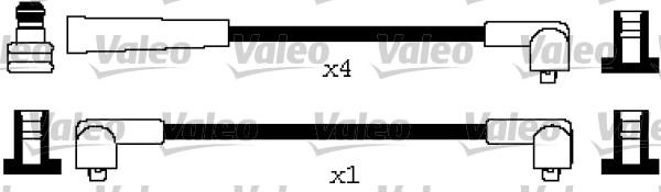 Jeu de fils d'allumage - VALEO - 346631