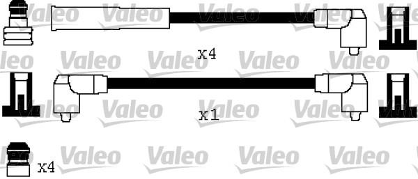 Jeu de fils d'allumage - VALEO - 346556