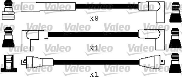 Jeu de fils d'allumage - VALEO - 346545