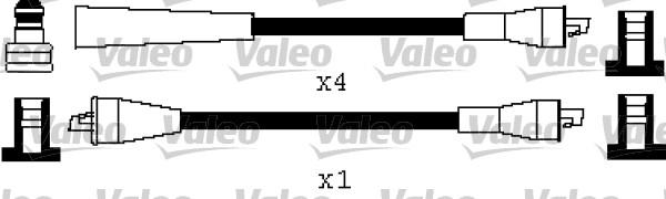 Jeu de fils d'allumage - VALEO - 346539