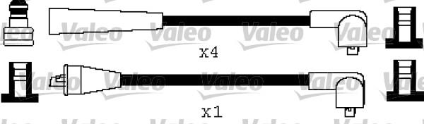 Jeu de fils d'allumage - VALEO - 346538