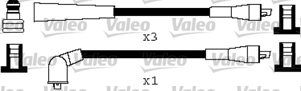 Jeu de fils d'allumage - VALEO - 346536