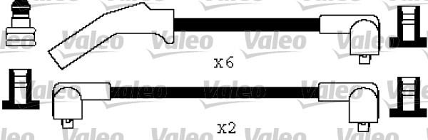 Jeu de fils d'allumage - VALEO - 346483