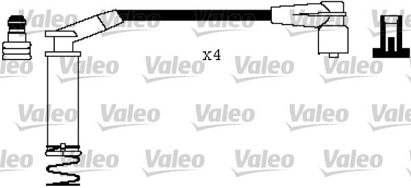 Jeu de fils d'allumage - VALEO - 346405