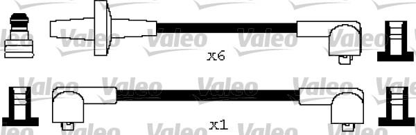 Jeu de fils d'allumage - VALEO - 346284