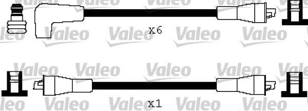 Jeu de fils d'allumage - VALEO - 346188