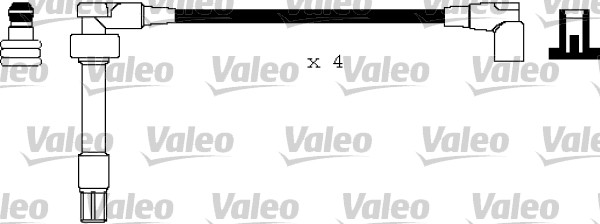 Jeu de fils d'allumage - VALEO - 346172