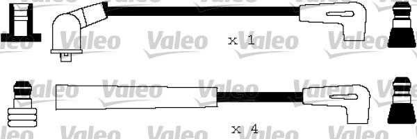 Jeu de fils d'allumage - VALEO - 346155