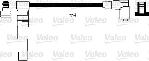 Jeu de fils d'allumage - VALEO - 346038
