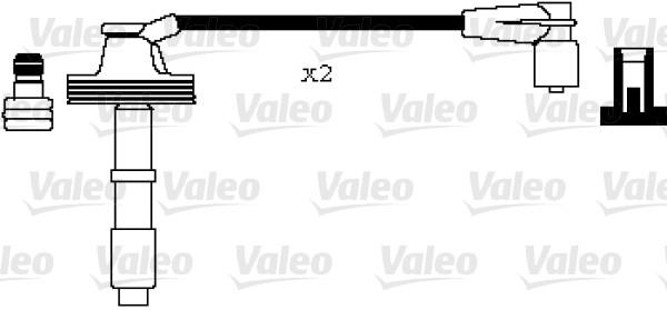Jeu de fils d'allumage - VALEO - 346001
