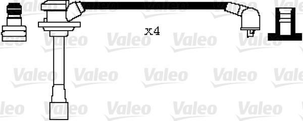 Jeu de fils d'allumage - VALEO - 346000