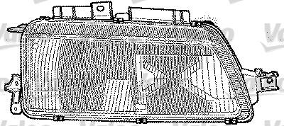 Projecteur principal - VALEO - 084670