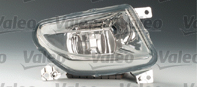 Projecteur antibrouillard - VALEO - 088016
