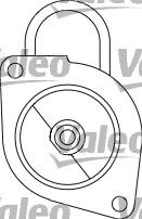 Démarreur - VALEO - 433200