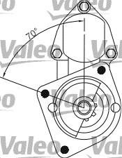 Démarreur - VALEO - 433278