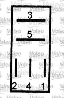 Relais, courant de travail - VALEO - 643825