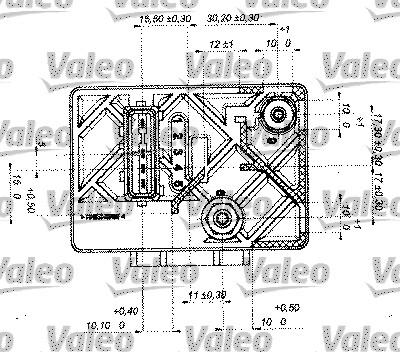 Temporisateur de préchauffage - VALEO - 245622