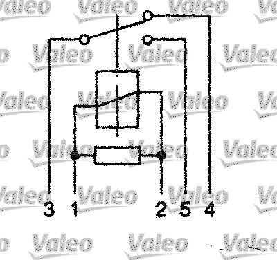 Relais, courant de travail - VALEO - 643818