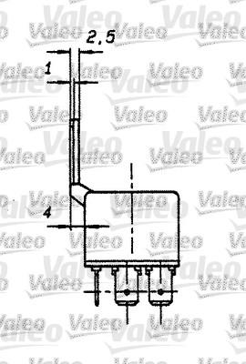 Relais, courant de travail - VALEO - 643822