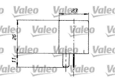 Relais, courant de travail - VALEO - 643826