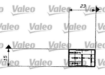 Relais, courant de travail - VALEO - 643824