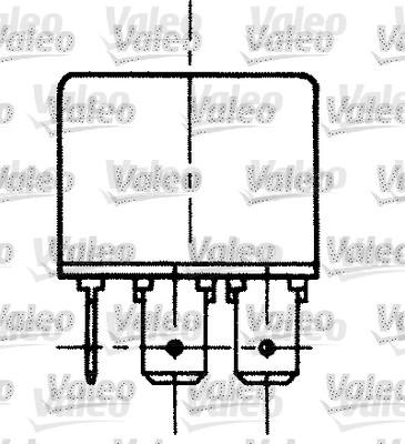 Relais, courant de travail - VALEO - 643601