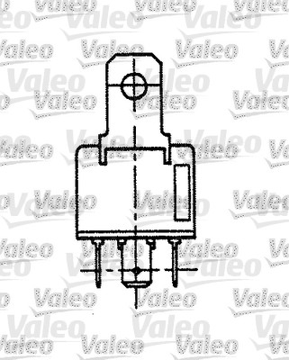 Relais, courant de travail - VALEO - 643813