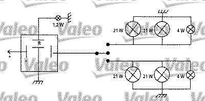 Centrale clignotante - VALEO - 641424