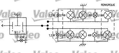 Centrale clignotante - VALEO - 641427