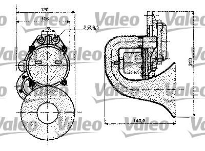 Avertisseur sonore - VALEO - 479076