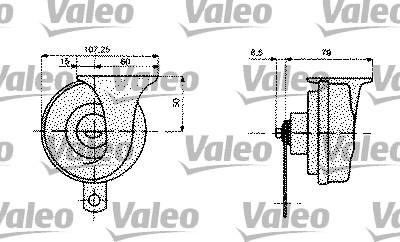 Avertisseur sonore - VALEO - 479158
