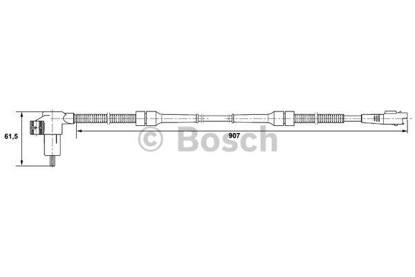 Capteur, vitesse de roue - BOSCH - 0 265 006 731