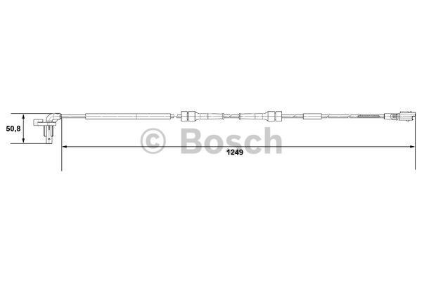 Capteur, vitesse de roue - BOSCH - 0 265 007 666