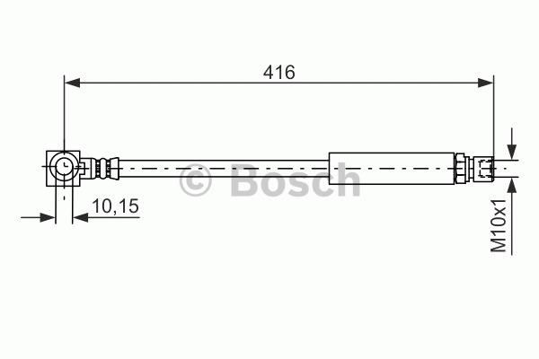 Flexible de frein - BOSCH - 1 987 476 440