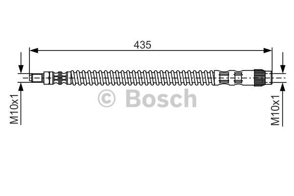 Flexible de frein - BOSCH - 1 987 476 669