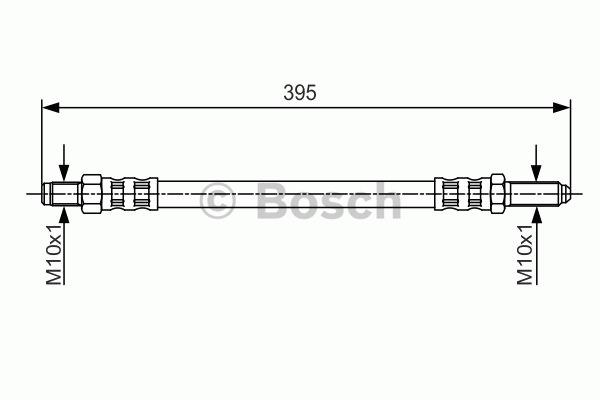 Flexible de frein - BOSCH - 1 987 481 213